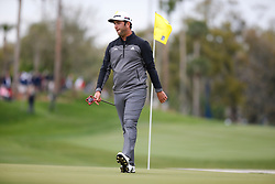 March 16, 2019 - Ponte Vedra Beach, FL, U.S. - PONTE VEDRA BEACH, FL - MARCH 16: Jon Rahm of Spain looks on from the 14th hole during the third round of THE PLAYERS Championship on March 16, 2019 on the Stadium Course at TPC Sawgrass in Ponte Vedra Beach, Fl. (Photo by David Rosenblum/Icon Sportswire) (Credit Image: © David Rosenblum/Icon SMI via ZUMA Press)