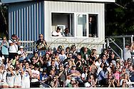 Elyria Catholic at Brookside varsity football on August 26, 2016. Images © David Richard.