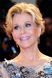Jane Fonda attending the Our Souls at Night premiere during the 74th Venice International Film Festival (Mostra di Venezia) at the Lido, Venice, Italy on September 01, 2017. Photo by Aurore Marechal/ABACAPRESS.COM