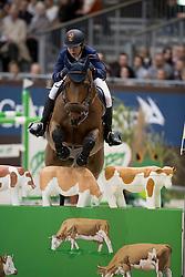 Liebherr Christina, (SUI), LB Eagle Eye<br /> CHI de Genève 2016<br /> © Hippo Foto - Dirk Caremans<br /> 11-12-2016