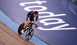Jon Mould during the madison time trial during Round One of the 2017/18 Revolution Series at Lee Valley Velo Park, London.