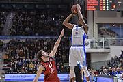 DESCRIZIONE : Eurocup 2015-2016 Last 32 Group N Dinamo Banco di Sardegna Sassari - Cai Zaragoza<br /> GIOCATORE : MarQuez Haynes<br /> CATEGORIA : Tiro Tre Punti Three Point Ritardo<br /> SQUADRA : Dinamo Banco di Sardegna Sassari<br /> EVENTO : Eurocup 2015-2016<br /> GARA : Dinamo Banco di Sardegna Sassari - Cai Zaragoza<br /> DATA : 27/01/2016<br /> SPORT : Pallacanestro <br /> AUTORE : Agenzia Ciamillo-Castoria/L.Canu