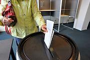 Nederland, Ubbergen, 12-9-2012Verkiezingen voor de tweede kamer, parlement.Netherlands, general elections.Foto: Flip Franssen/Hollandse Hoogte