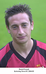 DANIEL FRENCH KETTERING TOWN FC 2004/05