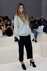 Bianca Brandolini d'Adda attending the Chloe show as a part of Paris Fashion Week Ready to Wear Spring/Summer 2017 in Paris, France on September 29, 2016. Photo by Aurore Marechal/ABACAPRESS.COM