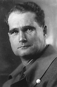 Rudolf Hess (1894–1987) prominent figure in Nazi Germany.  Acted as Adolf Hitler's deputy in the Nazi Party from 1926-1941.