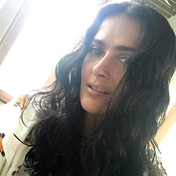 """Salma Hayek releases a photo on Instagram with the following caption: """"#selfie"""". Photo Credit: Instagram *** No USA Distribution *** For Editorial Use Only *** Not to be Published in Books or Photo Books ***  Please note: Fees charged by the agency are for the agency's services only, and do not, nor are they intended to, convey to the user any ownership of Copyright or License in the material. The agency does not claim any ownership including but not limited to Copyright or License in the attached material. By publishing this material you expressly agree to indemnify and to hold the agency and its directors, shareholders and employees harmless from any loss, claims, damages, demands, expenses (including legal fees), or any causes of action or allegation against the agency arising out of or connected in any way with publication of the material."""