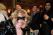 AGYNESS DEYN; WITH PRIZE SHE WON IN TREASURE HUNT; HENRY HOLLAND, Kate Grand hosts a Love Tea and Treasure hunt at Flash. Royal Academy. Burlington Gardens. London. 10 december 2008 *** Local Caption *** -DO NOT ARCHIVE-© Copyright Photograph by Dafydd Jones. 248 Clapham Rd. London SW9 0PZ. Tel 0207 820 0771. www.dafjones.com.<br /> AGYNESS DEYN; WITH PRIZE SHE WON IN TREASURE HUNT; HENRY HOLLAND, Kate Grand hosts a Love Tea and Treasure hunt at Flash. Royal Academy. Burlington Gardens. London. 10 december 2008