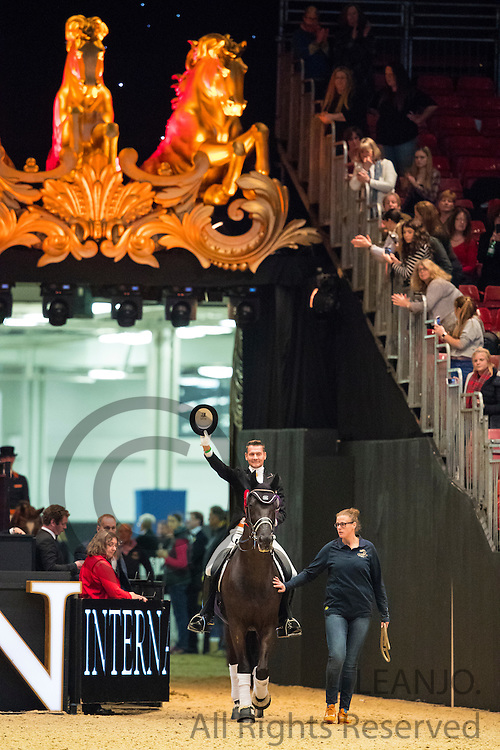 Edward Gal - Glock's Voice<br /> Olympia Horse Show 2016<br /> © DigiShots