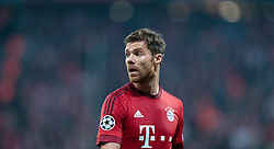 04.11.2015, Allianz Arena, Muenchen, GER, UEFA CL, FC Bayern Muenchen vs FC Arsenal, Gruppe F, im Bild Xabi Alonso (FC Bayern) // during the UEFA Champions League group F match between FC Bayern Munich and FC Arsenal at the Allianz Arena in Munich, Germany on 2015/11/04. EXPA Pictures © 2015, PhotoCredit: EXPA/ JFK