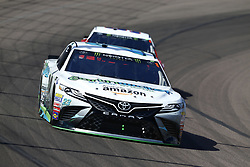 March 11, 2018 - Avondale, Arizona, United States of America - March 11, 2018 - Avondale, Arizona, USA: Gray Gaulding (23) brings his car through the turns during the Ticket Guardian 500(k) at ISM Raceway in Avondale, Arizona. (Credit Image: © Chris Owens Asp Inc/ASP via ZUMA Wire)