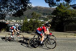 September 23, 2017 - Bergen, NORWAY - 170923 Ingrid Moe of Norway competes during the Women Elite Road Race on September 23, 2017 in Bergen..Photo: Vegard Wivestad GrÂ¿tt / BILDBYRN / kod VG / 170026 (Credit Image: © Vegard Wivestad Gr¯Tt/Bildbyran via ZUMA Wire)