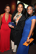 """15 November 2010- New York, NY- l to r: Rachell Noerdlinger, NAN, Phylicia Rashad, and Tamika Mallory, NAN at The National Action Network's 1st Annual Triumph Awards honoring """"Our Best"""" in the Arts, Entertainment, & Sports held at Jazz at Lincoln Center on November 15, 2010 in New York City. Photo Credit: Terrence Jennings"""