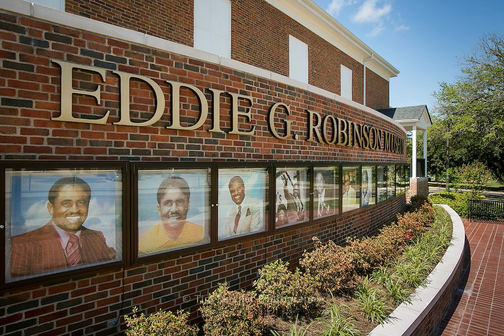 The Eddie Robinson Museum is located on the campus of Grambling State University in Grambling, Louisiana. The museum honors the legacy and contributions of the all-time winningest coach in NCAA Division I football.