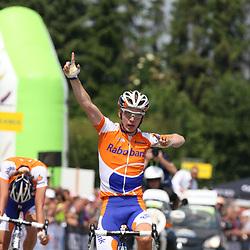 Sportfoto archief 2006-2010<br /> 2010<br /> Tom Jelte Slagter wordt op de Adsteeg in Beek Nederlands Kampioen bij de beloften