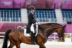 Schneider Dorothee, GER, Showtime FRW, 138<br /> Olympic Games Tokyo 2021<br /> © Hippo Foto - Stefan Lafrentz<br /> 27/07/2021