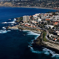 USA, California, San Diego. La Jolla Beaches & Coastline.