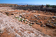 TURKEY, GREEK AND ROMAN PERGE; Roman stadium seating 12,000