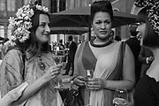 ADELE MILDRED; BISHI; AMBER BUTCHART, V & A Summer Party. 2018. Exhibition Rd. South Kensington, London. 20 June 2018