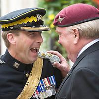 Royal Scott Dragoon Guards Parade
