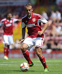 Bristol City's Liam Kelly - Photo mandatory by-line: Joe Meredith/JMP - Tel: Mobile: 07966 386802 13/07/2013 - SPORT - FOOTBALL - Bristol -  Bristol City v Glasgow Rangers - Pre Season Friendly - Bristol - Ashton Gate Stadium