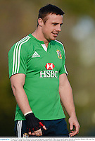 27 June 2013; Tommy Bowe, British & Irish Lions, during squad training ahead of their 2nd test match against Australia on Saturday. British & Irish Lions Tour 2013, Squad Training. Scotch College, Hawthorn, Melbourne, Australia. Picture credit: Stephen McCarthy / SPORTSFILE