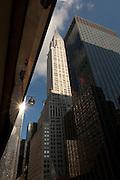 Chrysler Building and Lexington Avenue, New York City, USA