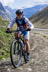 16-09-2017 FRA: BvdGF Tour du Mont Blanc day 7, Beaufort<br /> De laatste etappe waar we starten eindigen we ook weer naar een prachtige route langs de Mt. Blanc / Javier