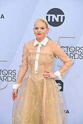 January 27, 2019 - Los Angeles, California, U.S - REBEKKA JOHNSON  during silver carpet arrivals for the 25th Annual Screen Actors Guild Awards, held at The Shrine Expo Hall. (Credit Image: © Kevin Sullivan via ZUMA Wire)