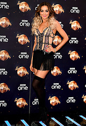 Luba Mushtuk at the launch of Strictly Come Dancing 2018 held at The Broadcasting House, London.