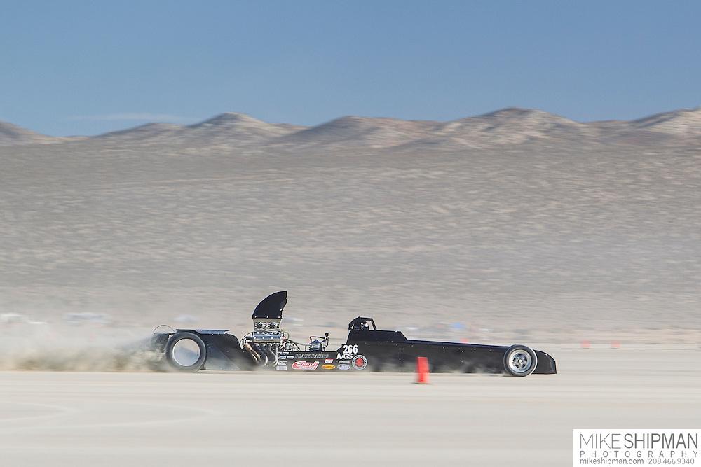 Black Racing, 266, eng A, body GS, driver Keith Black, 223.396, previous record 214.362