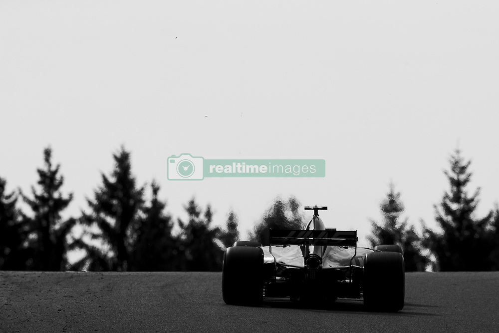 August 25, 2017 - Spa, Belgium - 08 GROSJEAN Romain from France of Haas F1 team during the Formula One Belgian Grand Prix at Circuit de Spa-Francorchamps on August 25, 2017 in Spa, Belgium. (Credit Image: © Xavier Bonilla/NurPhoto via ZUMA Press)