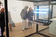 SIR BOB GELDOF; JEANNE MARINE, Damien Hirst, Tate Modern: dinner. 2 April 2012.