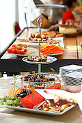 Luxurious food buffet