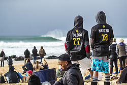 July 20, 2017 - Filipe Toledo and Garbiel Medina fans sporting their WSL shirts while supporting their surfing heros...Corona Open J-Bay, Eastern Cape, South Africa - 20 Jul 2017. (Credit Image: © Rex Shutterstock via ZUMA Press)