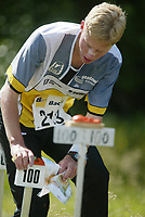 Orientering, 21. juni 2002. NM sprint. Kristian Kullerud, Sarpsborg.