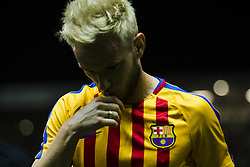 September 23, 2017 - Girona, Catalonia, Spain - Ivan Rakitic from Croatia of FC Barcelona during the La Liga match between Girona FC v FC Barcelona  at Montilivi Stadium on September 23, 2017 in Girona, Spain. (Credit Image: © Xavier Bonilla/NurPhoto via ZUMA Press)