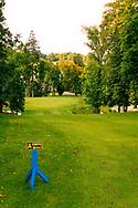 18-09-2015: Golf & Spa Resort Konopiste in Benesov, Tsjechië.<br /> Foto: De uitdagende 18de