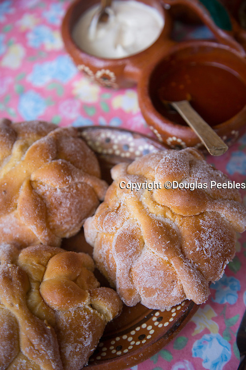 Pan de Muertos (Mexican Bread of the Dead), El Tuito, Costalegre, Jalisco, Mexico