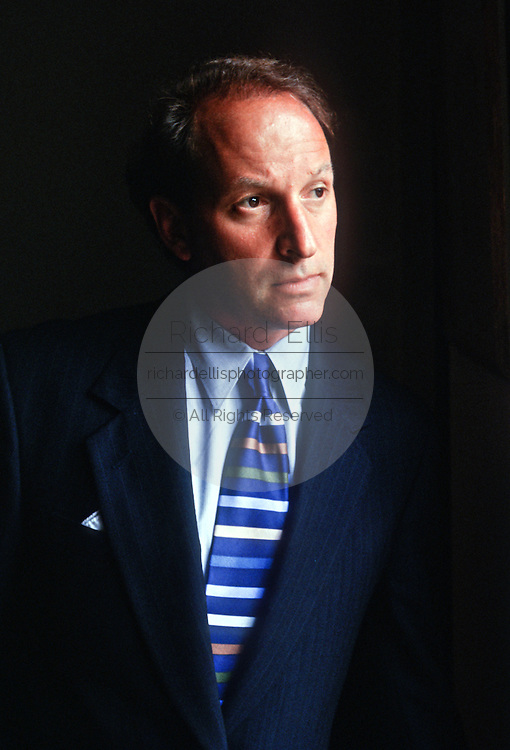 Abbe D. Lowell well known criminal defense attorney who has represented numerous high-profile clients, including lobbyist Jack Abramoff at his office August 7, 1998 in Washington, DC.