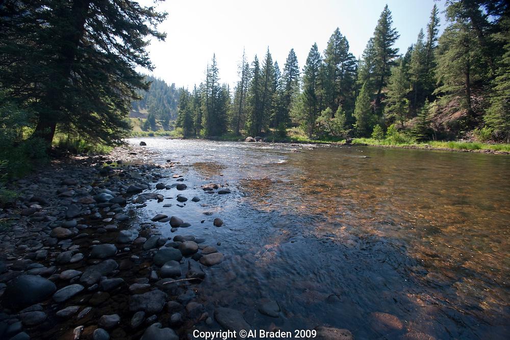 Palisades Campground on Rio Grande, Rt. 149, Mineral County, Colorado.