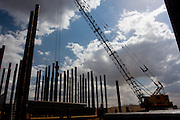 Jeceaba_MG, Brasil...Construcao de uma usina siderurgica em Jeceaba, Minas Gerais...The construction of the steel industry in Jeceaba, Minas Gerais...Foto: LEO DRUMOND / NITRO