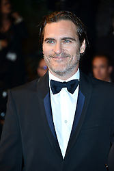 """70th Cannes Film Festival 2017, Red carpet film """"You Were Never Really Here"""". Pictured: Joaquin Phoenix"""