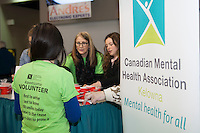 KELOWNA, CANADA - FEBRUARY 10: Canadian Mental Health Association volunteers on February 10, 2017 at Prospera Place in Kelowna, British Columbia, Canada.  (Photo by Marissa Baecker/Shoot the Breeze)  *** Local Caption ***