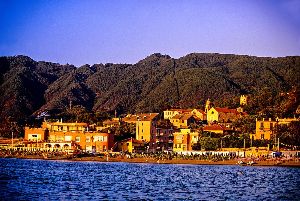 Levanto, near Cinque Terre, Italy