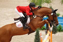 Bond Ashlee (USA) - Cadett 7<br /> Rolex FEI World Cup Final Jumping 2011<br /> © Hippo Foto - Leanjo de Koster