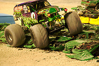 Monster Jam Truck Show in Miami, February 2007