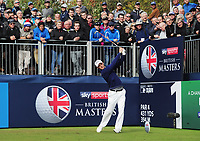Golf - 2018 Sky Sports British Masters - Thursday, First Round<br /> <br /> Martin Kymer of Germany at the first tee, at Walton Heath Golf Club.<br /> <br /> COLORSPORT/ANDREW COWIE