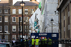 2015=04-20 Hundreds evacuated as scaffolding collapses in central London
