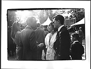 Robert Hanson, Ghislaine Maxwell, Arc de Triomphe, Longchamp. Paris. Oct. 1987.